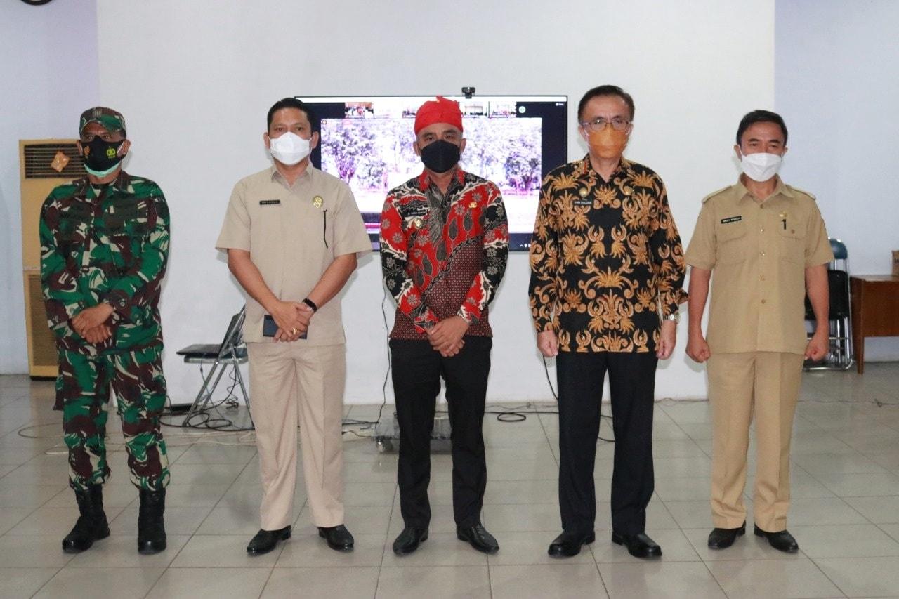 HUT Provinsi Sulawesi Tengah yang ke-57 Gubernur Drs. Hi.Longki Djanggola,M.Si bertindak sebagai Ins