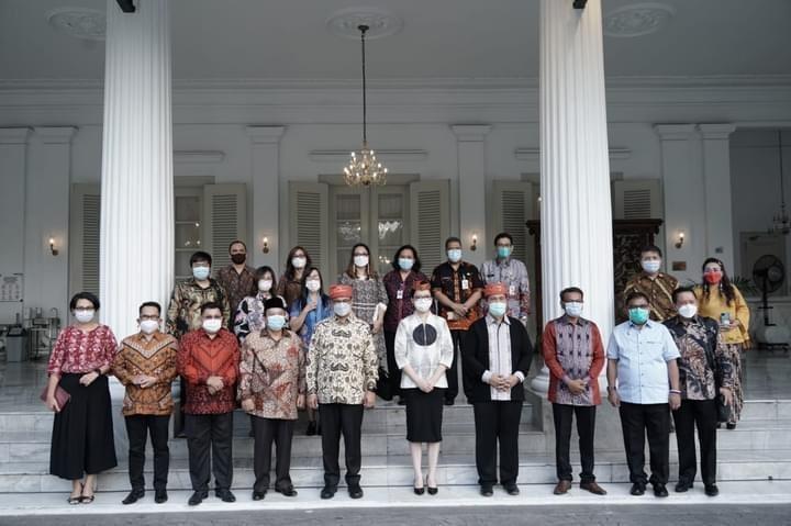 Bupati Poso, hadiri pelepasan Kirab Obor Paskah Nasional di Jakarta